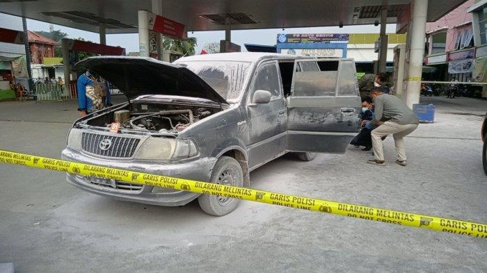 Mobil Kijang Kapsul yang Dimodifikasi untuk Selundupkan Bahan Bakar Terbakar di Lubuk Pakam