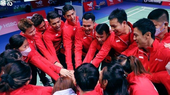 SIARAN LANGSUNG Live Streaming Piala Sudirman Indonesia vs Malaysia, Tonton Link Live di Sini