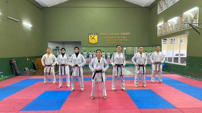 Tim Karate Sumut Turunkan Delapan Atlet di PON Papua