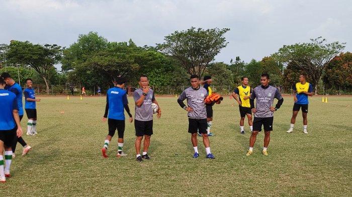 Sebelum Laga dengan Semen Padang, PSMS Medan Lakukan Latihan di Lapangan Atletik