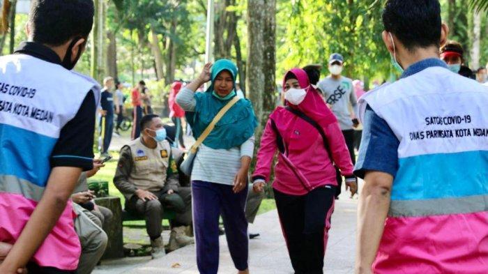 Cegah Penyebaran Covid-19, Pemkot Medan Imbau Warga Disiplin Terapkan Prokes