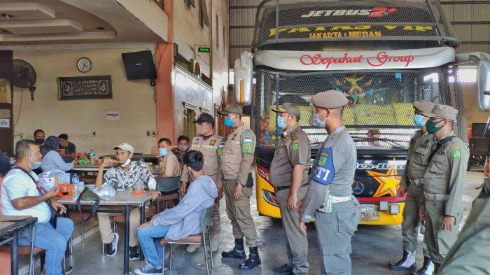 Tim Satgas Covid-19 Kota Medan Berikan Imbauan Prokes kepada Pengunjung & Karyawan Pool Angkutan