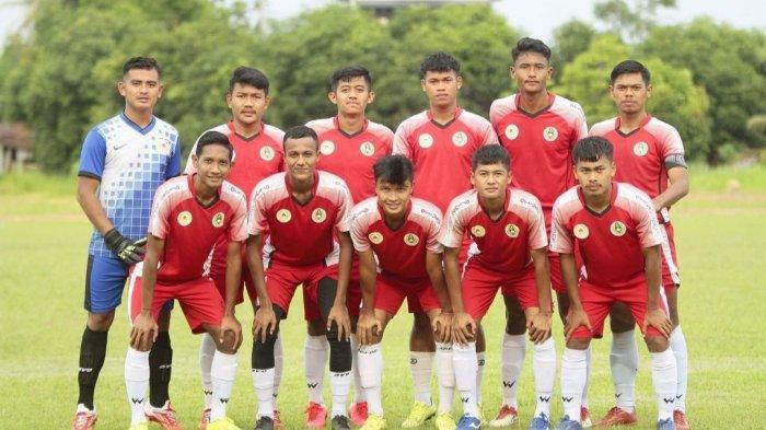 Tim Askab PSSI Sergai Tahan Imbang Tim PON Sepakbola Sumut di Babak Pertama Laga Uji Coba