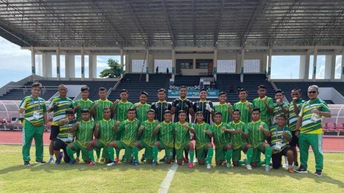 Tim Sepak Bola Sumut Ditahan Imbang Jateng, Ini Pemuncak Klasmen Grup B