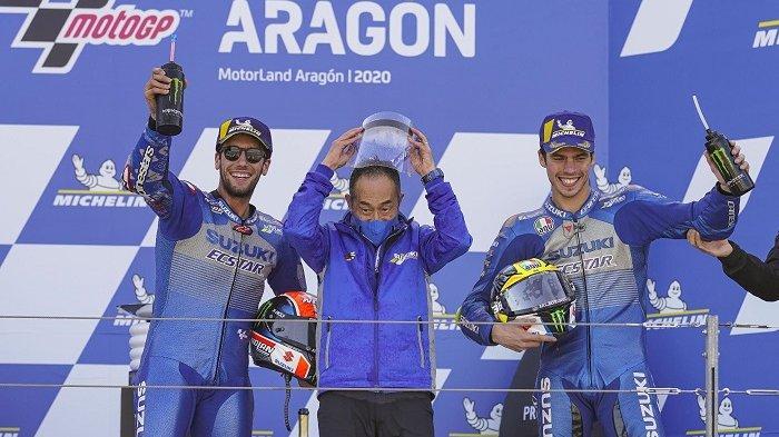 MotoGP Spanyol 2021 Live Trans7 Pekan Ini, Joan Mir Incar Naik Podium, Alex Rins Lebih Termotivasi
