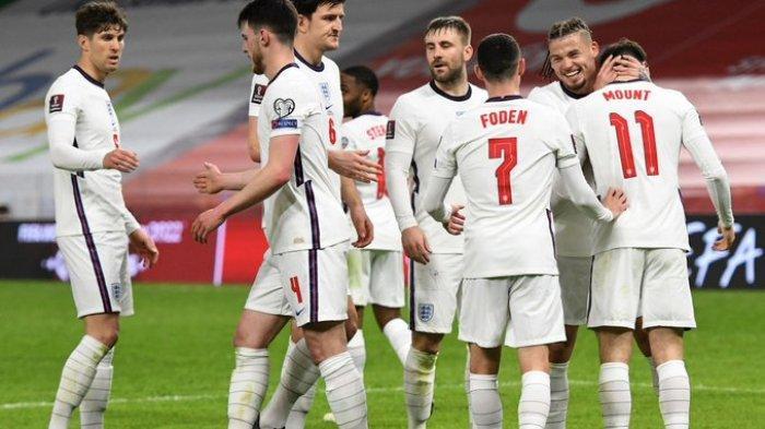 JADWAL Siaran Bola Malam Ini Kualifikasi Piala Dunia 2022, Inggris Vs Polandia, Spanyol Vs Kosovo