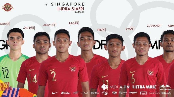 DAFTAR 33 Pemain Timnas Indonesia U-23 untuk Kualifikasi Piala Asia U-23 2022, Bagus Kahfi Masuk