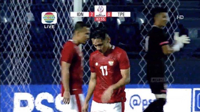 HASIL Timnas Indonesia Vs Taiwan, Gol Rumakiek dan Evan Dimas Amankan Kemenangan Leg Pertama