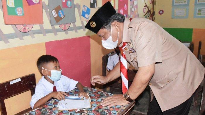 Wakil Bupati Deliserdang Tinjau Pembelajaran di Kutalimbaru