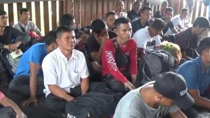 64 Orang TKI Ilegal Diamankan Petugas Lanal Tanjungbalai Asahan, Negatif Terinfeksi Virus Corona