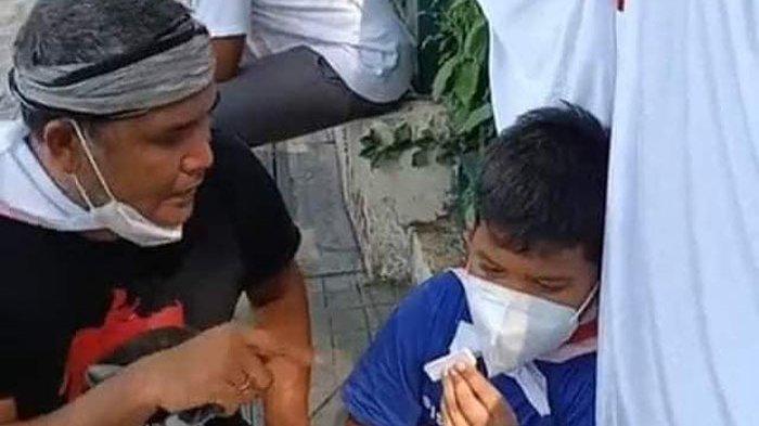 Dibentak dan Dibawa Polisi, Bocah 8 Tahun yang Ikut Aksi Tutup TPL Syok: Kita di Penjara ya Pak?