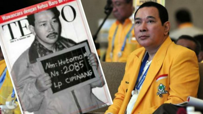 Sisi Kelam Tommy Soeharto Pendukung Anies yang Digadang-gadang Jadi Capres