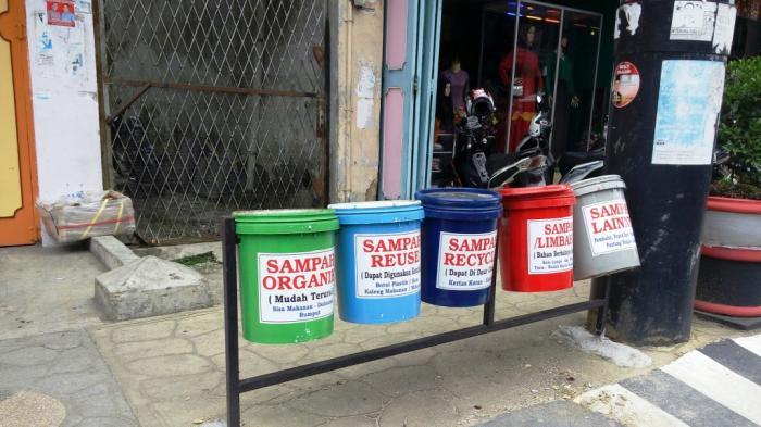 2016, Pemko Medan akan Sebar Tong Sampah ke Seluruh Pelosok - Halaman all -  Tribun Medan