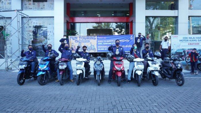 Fun Touring Ajang Pembuktian Performa Generasi 125 Yamaha