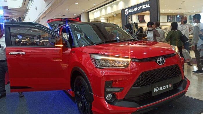 Toyota Raize Mengaspal di Sumut, Diklaim Mobil Paling Aman dan Dapat Insentif PPnBM