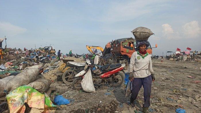 TPA Terjun jadi TPA satu-satunya yang menampung sampah dari seluruh wilayah di Kota Medan.