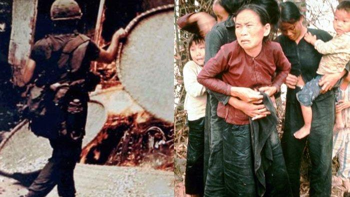 TRAGEDY My Lai yang Jadi Sejarah Kejahatan Perang Militer AS, imbas Gagal Temukan Viet Cong