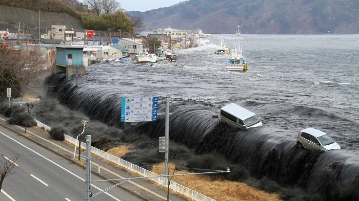 Materi Belajar Sekolah, Tsunami: Tanda-tanda dan Prosesnya