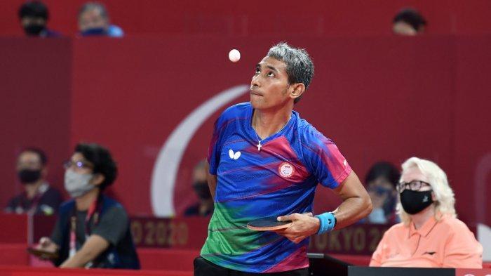 Petenis Meja Indonesia David Jacobs Raih Medali Ketiga untuk Indonesia di Paralimpiade Tokyo 2020