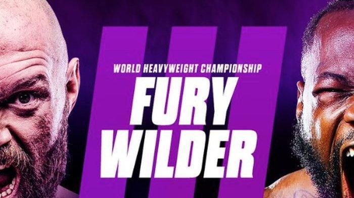 JADWAL Tinju Dunia Tyson Fury vs Deontay Wilder, Perebutan Sabuk Juara Dunia Kelas Berat WBC