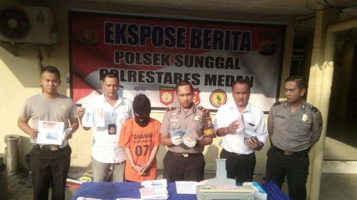 Kasus Uang Palsu Terbongkar, Mahasiswa Pancabudi Ditangkap Polisi