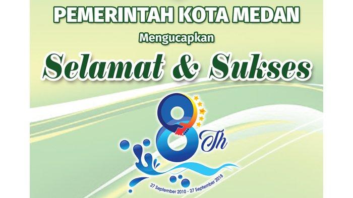 Ucapan Selamat HUT ke-8 Tribun Medan dari Pemerintah Kota Medan