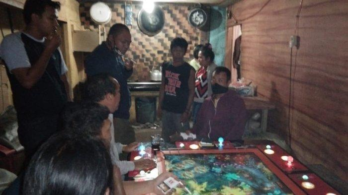 Kumpul-kumpul Saat Corona, Polres Taput Tangkap Tiga Pemain dan Penyedia Lahan Judi Tembak Ikan