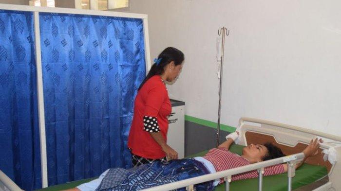 Diduga Tenggak PCC, Kedua Kaki dan Tangan Wanita Ini Diikat