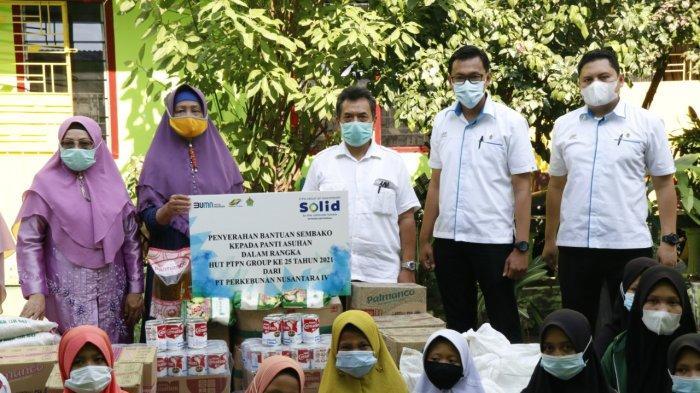 Syukuran di HUT ke-25, PTPN IV Lakukan Berbagai Aksi Sosial