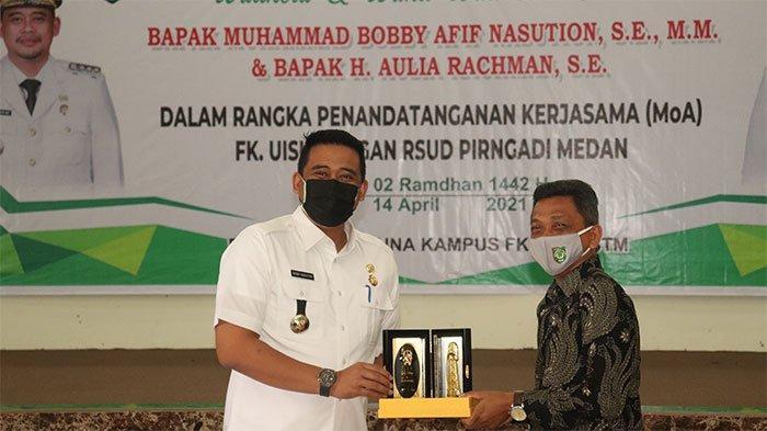 Walikota Medan Apresiasi Kerjasama UISU dan RSUD Pirngadi