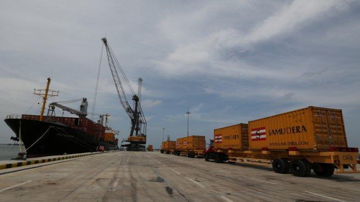 Kuala Tanjung Siap Operasi, Pelabuhan Internasional Layani Ekspor 600 Kontainer Per Minggu