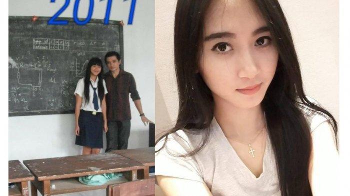 Viral, Gadis Manado Akhirnya Dinikahi Guru SMP-nya Sendiri setelah Berpacaran 7 Tahun Lamanya