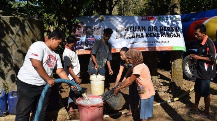 Atasi Kekeringan, ACT Distribusikan Lebih dari 50.000 Liter Air ke Gunungkidul dan Lombok