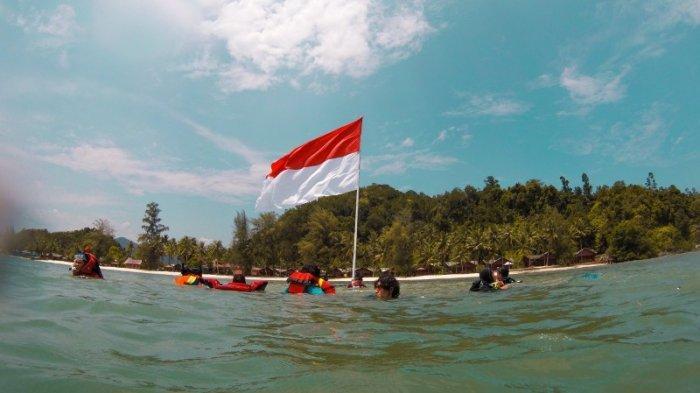 Jelang HUT ke-75 RI, Komantab Lakukan Kegiatan Susur Pulau, Lomba Foto dan Permainan Tradisional