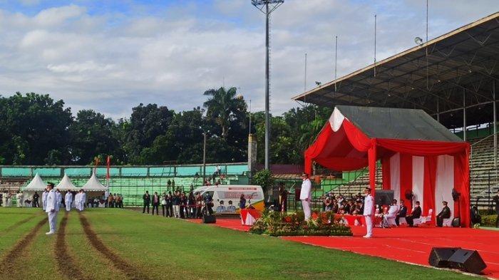 Pemko Medan Gelar Upacara  17 Agustus Secara Terbatas di Stadion Teladan