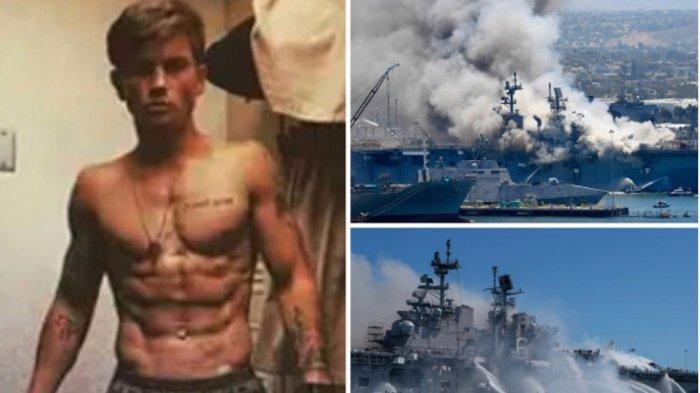 Tentara Gagal Masuk Pasukan Elite Navy SEAL, Diduga Bakar Kapal Perang Rp 17 Triliun jadi Rongsokan