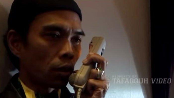Ustaz Abdul Somad Beri Tausiyah di dalam Pesawat selama 10 Menit: Tidak Ada yang Aman
