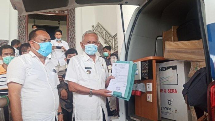 Tak Hanya Vaksin Sinovac, 1600 Paket APD Telah Tiba di Toba