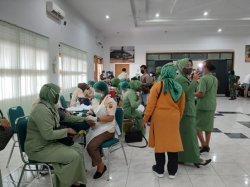 Kodam I BB Gelar Vaksinasi untuk Umum, Diikuti Purnawirawan hingga Jurnalis