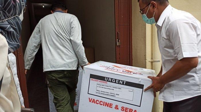 5.000 Vial Vaksin Covid-19 Tiba di Binjai, Vaksinasi Dilaksanakan di Delapan Puskemas