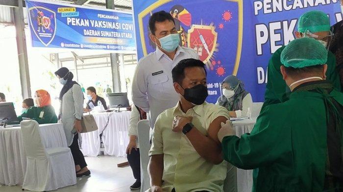 Jadi Tuan Rumah Pekan Vaksinasi, Rektor USU Akan Bentuk Satgas Bantu Penginformasian Vaksin di Sumut