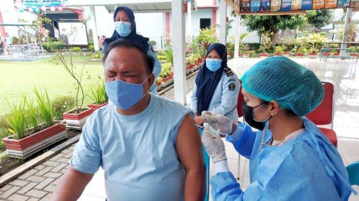 137 Petugas Lapas Jalani Vaksinasi, Kalapas Ingin Wilayah Kerjanya Bebas Covid-19