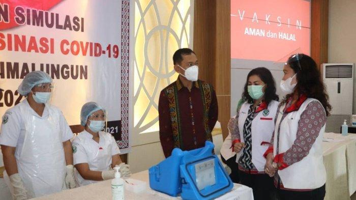 Forkopimda Simalungun Jalani Vaksinasi Covid-19 di RSUD Rondohaim Senin Depan