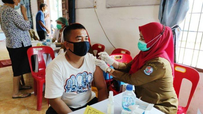 Geber Vaksinasi, Kecamatan Patumbak Sasar Kelompok Rentan Putus Mata Rantai Penyebaran Covid-19