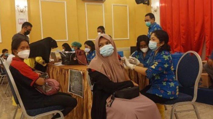 OPTIMALKAN Manfaat Vaksinasi dari Pemkab Deliserdang, Alfamidi dan Alfamart Dapat Jatah 50 Peserta