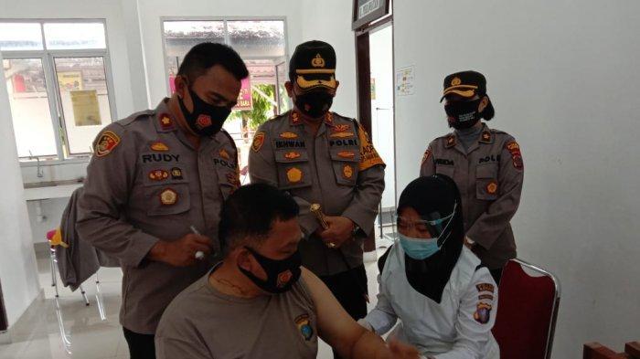 800 Vial Vaksin Covid-19 Disiapkan untuk Personel Polres Batubara