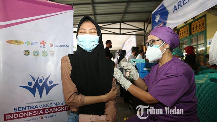 Pemkab Sergai Jadikan Lansia Target Selanjutnya Vaksinasi Usai Suntik Siswa/i SMP