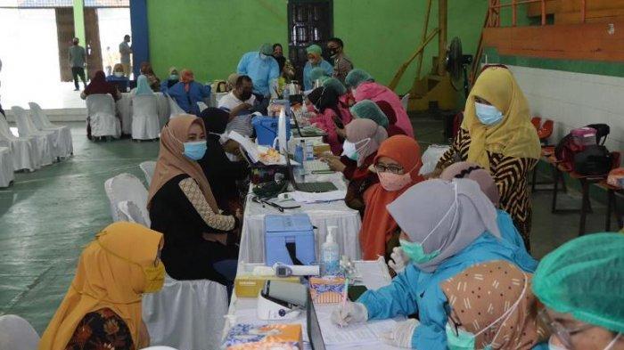 Vaksinasi 750 Orang Guru, Pemko Binjai Berharap Segera Dapat Tambahan Vaksin