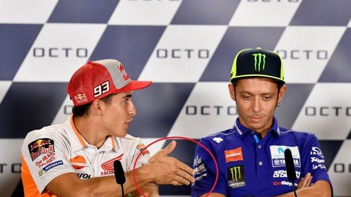 Soal Konflik Valentino Rossi dan Marquez, The Doctor Akan Berdamai dengan Baby Alien 30 Tahun Lagi