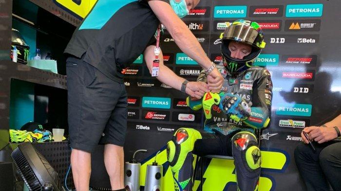 UPDATE Jadwal MotoGP Prancis 2021, Penyebab Bobroknya Performa Rossi karena Perangkat Elektronik